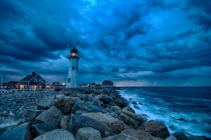 Old Scituate Lighthouse (Built In 1810), Massachusetts, USA Image credits: Francisco Marty