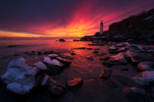 Portland Head Light, Maine, USA  Image credits: Yegor Malinovskii