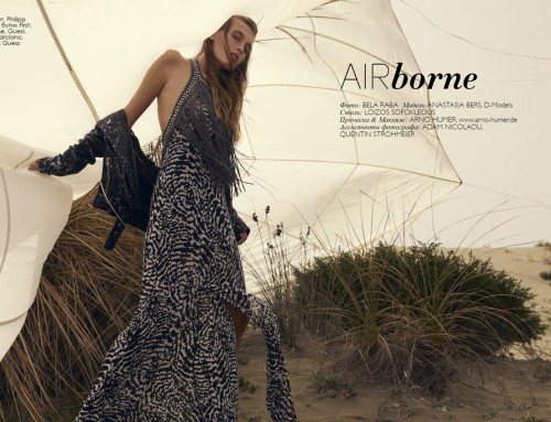 """AIRborne"" Fashion Editorial"