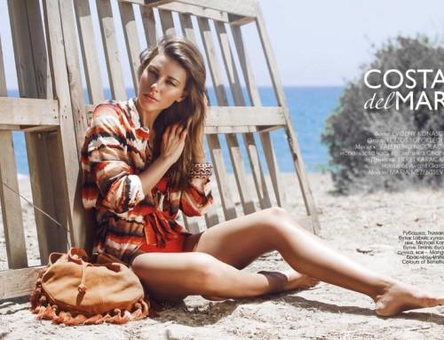 """""""Costa del Mar"""" fashion editorial"""