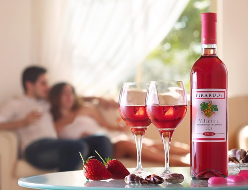 Valentine's Day Competition! Win a night for two at 5 star hotel. By Fikardos Winery