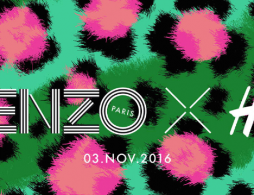 H&M + Kenzo launching November 3rd