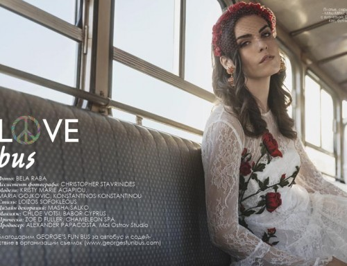 """Love Bus"" Fashion Editorial"