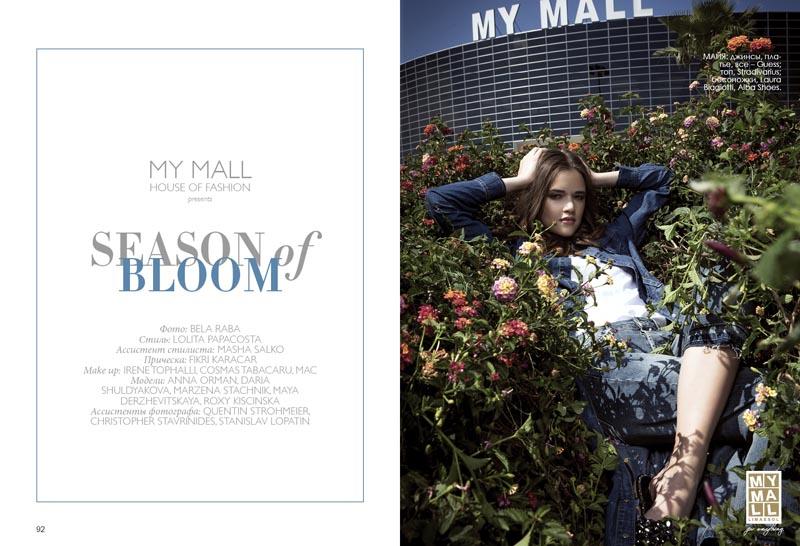 "MY MALL ""Season of Bloom"" Fashion Editorial"