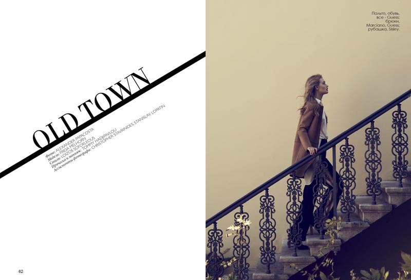 """""""Old Town"""" Fashion Editorial"""