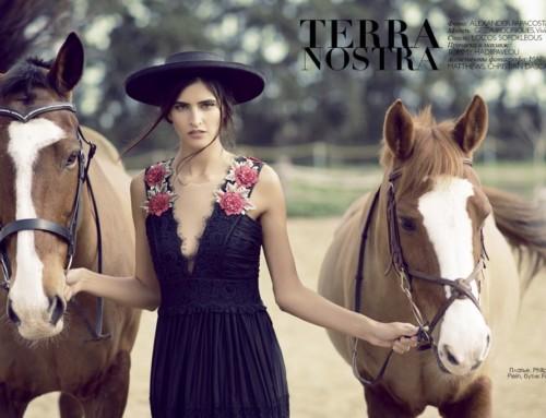"""Terra Nostra"" Fashion Editorial"