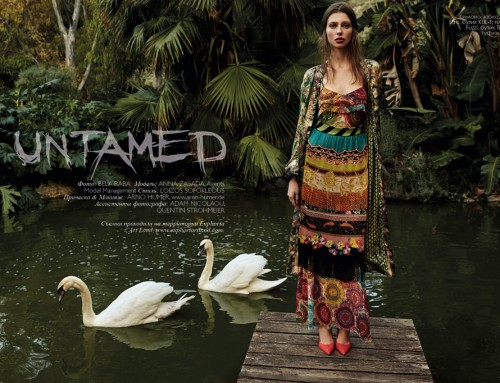 """Untamed"" Fashion Editorial"