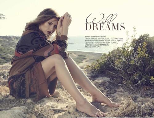 """Wild dreams"" Fashion Editorial"
