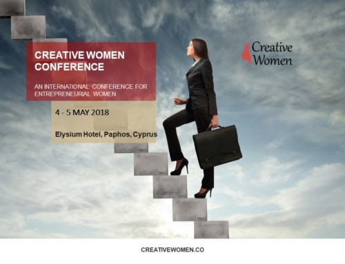 CREATIVE WOMEN INTERNATIONAL CONFERENCE in Paphos, 4-5 May 2018