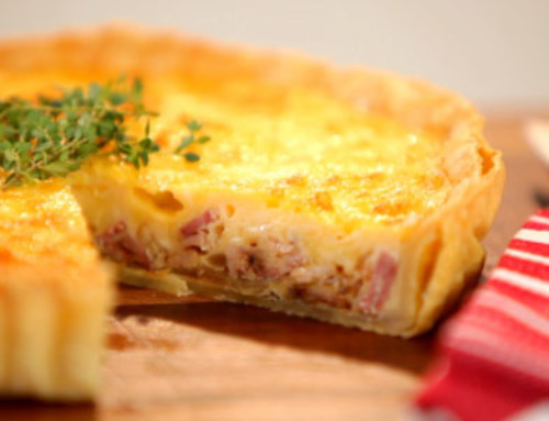 Delicious recipe –  QUICHE LORRAINE