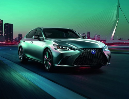 THE ALL-NEW LEXUS ES: A HIGHER LEVEL OF PERFORMANCE AND SOPHISTICATION