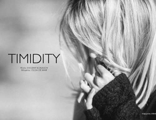 """Timidity"" Fashion Editorial"