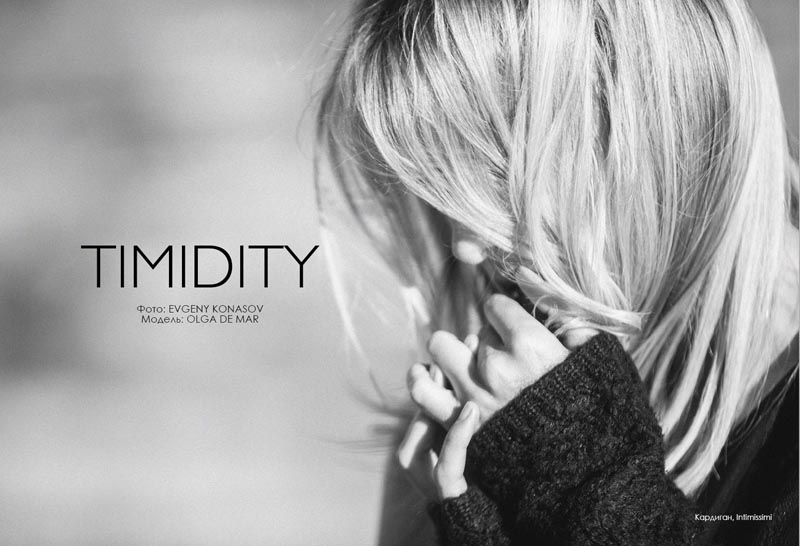 """Timidity"" Fashion Editorial"