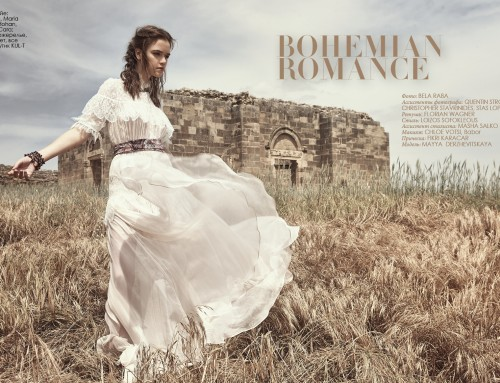 """Bohemian Romance"" Fashion Editorial"