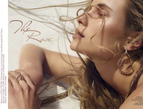 """""""The Rose"""" Beauty Editorial"""