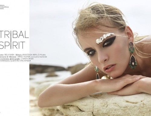 """Tribal Spirit"" Beauty Editorial"
