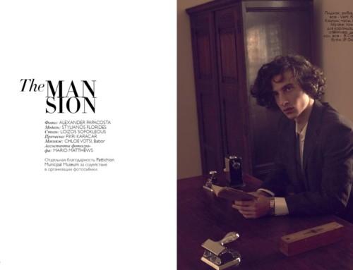"""The MANsion"" Fashion Editorial"