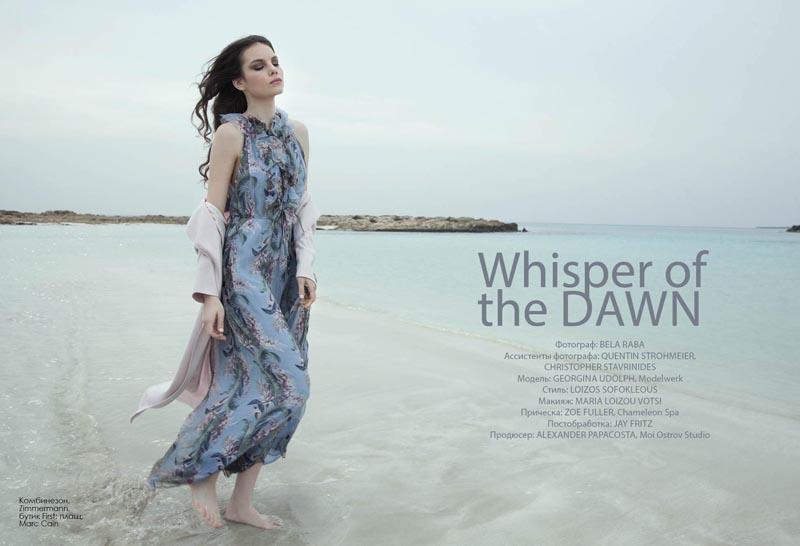 """Whisper of the Dawn"" Fashion Editorial"