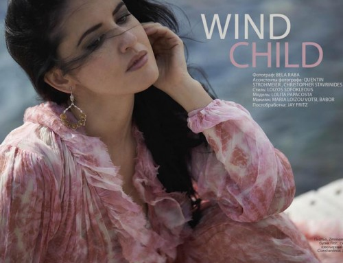 """Wind child"" Fashion Editorial"