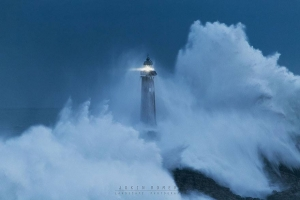Mouro Island Lighthouse (Built In 1860), Spain Image credits: Jokin Romero