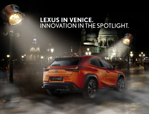 LEXUS IS THE OFFICIAL CAR OF THE 76TH VENICE INTERNATIONAL FILM FESTIVAL – LA BIENNALE DI VENEZIA