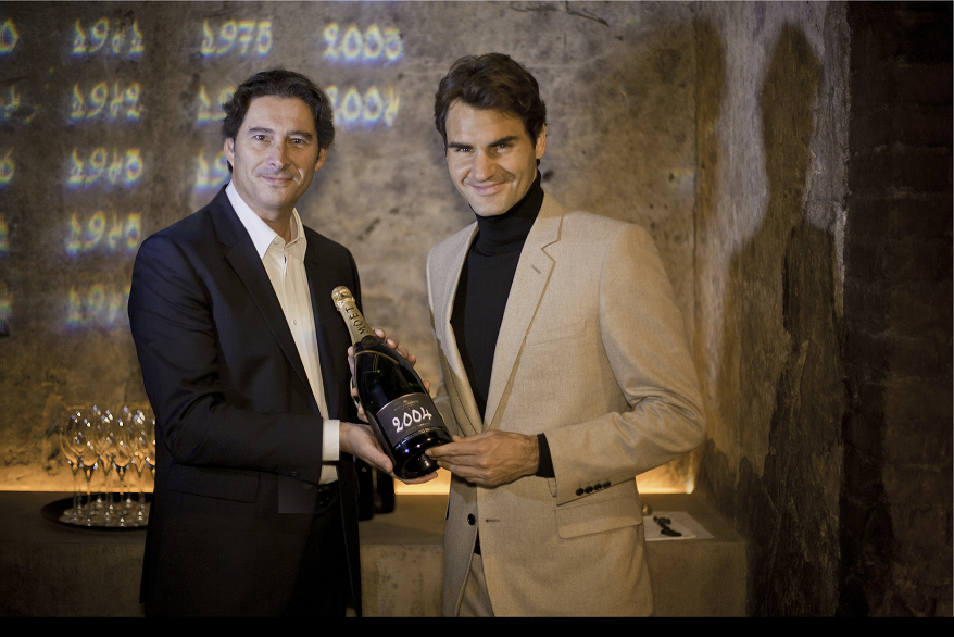 Roger Federer for Moet