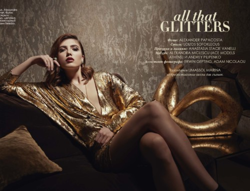 """All that glitters"" Fashion Editorial"