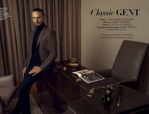 """Classic Gent"" Fashion Editorial"