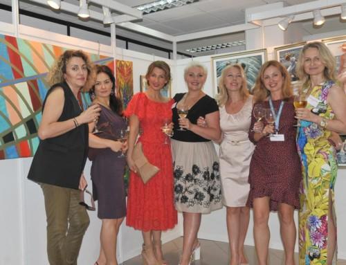 """Благотворительная художественная выставка """"Business Women Painting"""""""