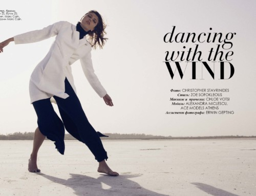 """Dancing with the Wind"" Fashion Editorial"