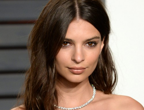 Emily Ratajkowski 2016 Vanity Fair Oscars Party