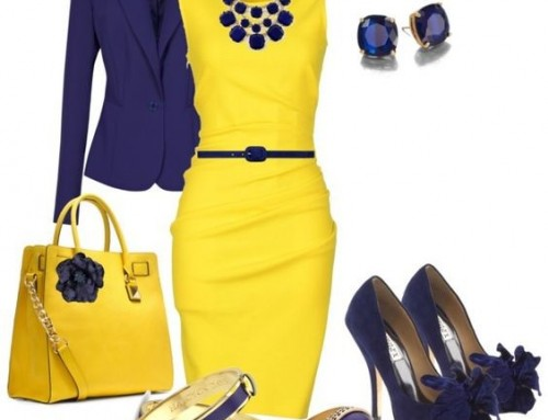 Nadiia Loversun: Summer color — YELLOW ???