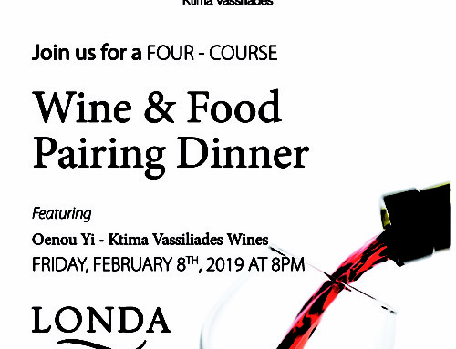 Londa Beach Hotel Wine-Pairing Dinner