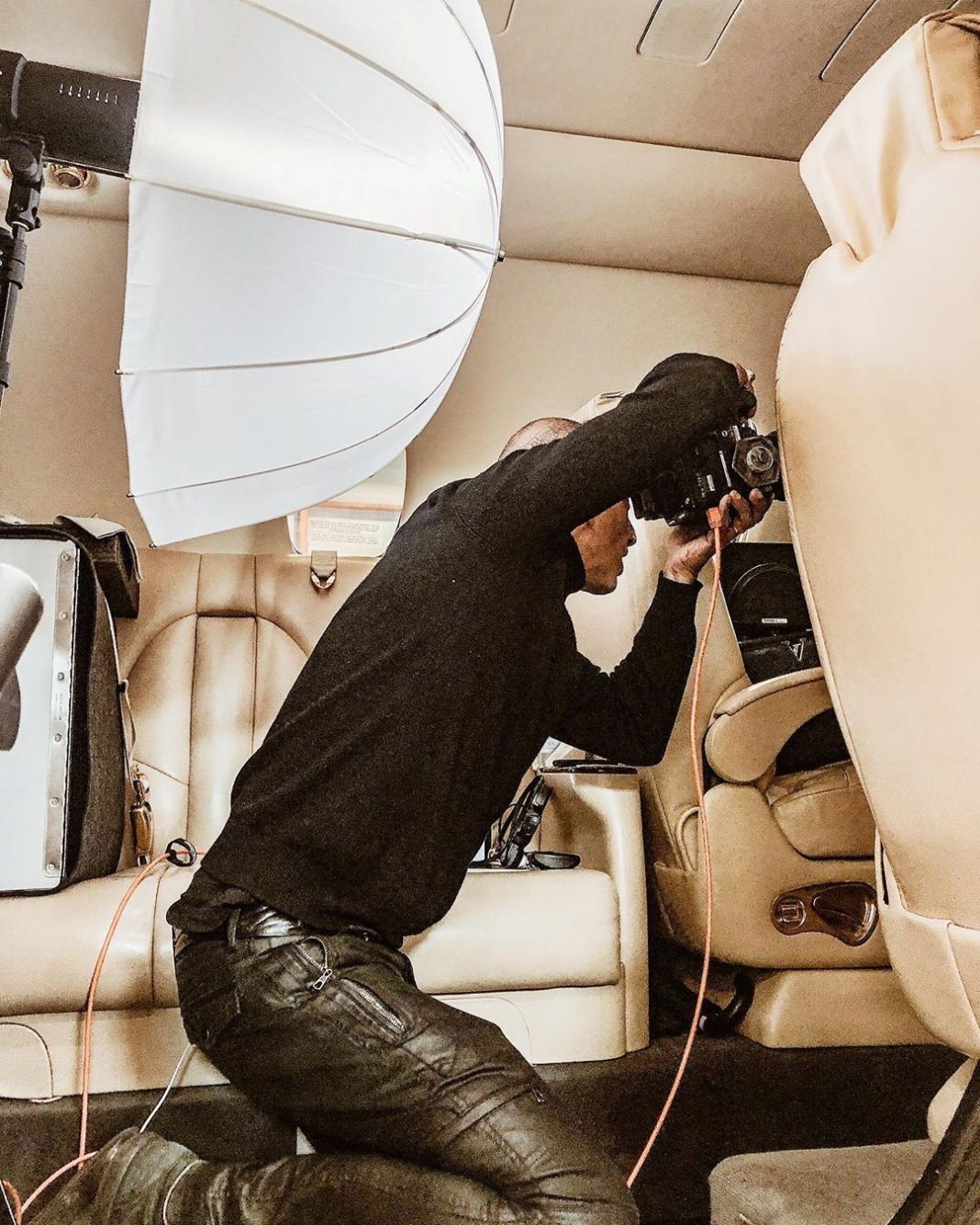 For this cover of @robbreportse my Profoto C1 Plus was a life saviour! It would ...