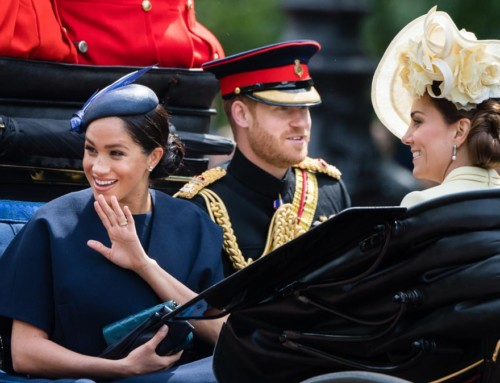 Meghan's First Maternity Leave Appearance