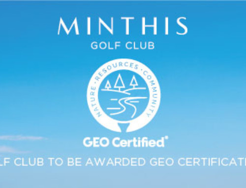 Minthis – the first golf club in Cyprus to be awarded with GEO Certification