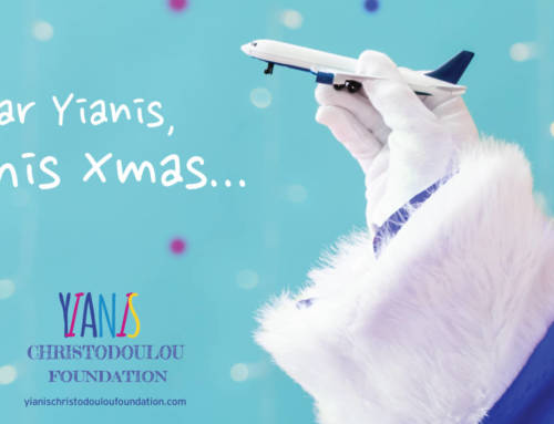 "#DearYianisThisChristmas… Τhe greatest Christmas initiative  by ""Yianis Christodoulou Foundation"""