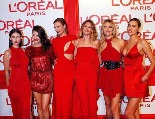 L'Oréal Red Obsession party