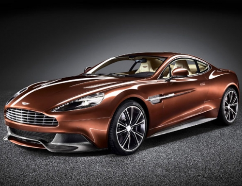 Aston Martin Vanquish британский  неоконсерватор Август 2012