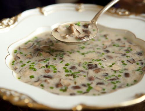 Delicious recipe – Creamy mushroom soup