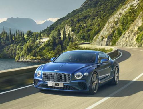 Bentley официально на Кипре