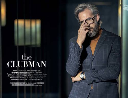 """The Clubman"" fashion editorial"